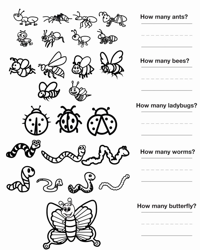 Insects Worksheets for Preschoolers Lovely Worksheet Dc D2f15e6f2eff33a17c27a3fed Bugs