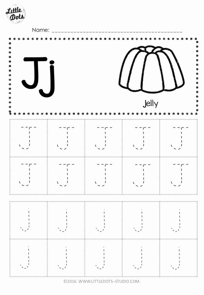 J Worksheets for Preschoolers Best Of Free Letter Tracing Worksheets Preschool Division Problems