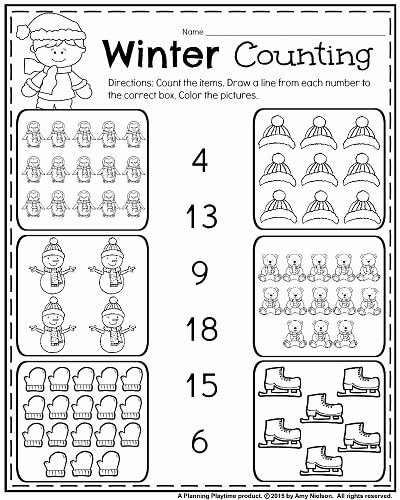 January Worksheets for Preschoolers Fresh January Kindergarten Worksheets
