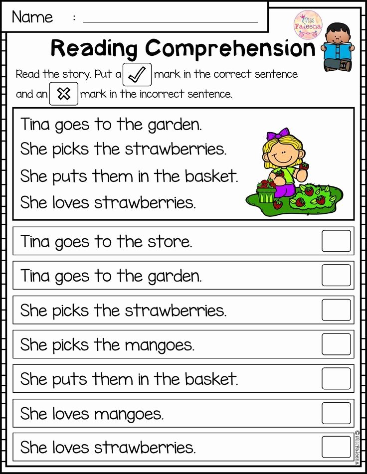 June Worksheets for Preschoolers Ideas June Reading Prehension Passages is Suitable for
