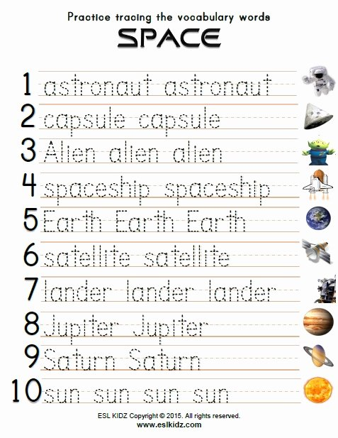 Jupiter Worksheets for Preschoolers Best Of Space Activities Games and Worksheets for Kids