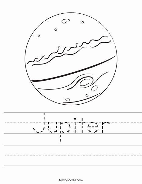 Jupiter Worksheets for Preschoolers top Jupiter Worksheet