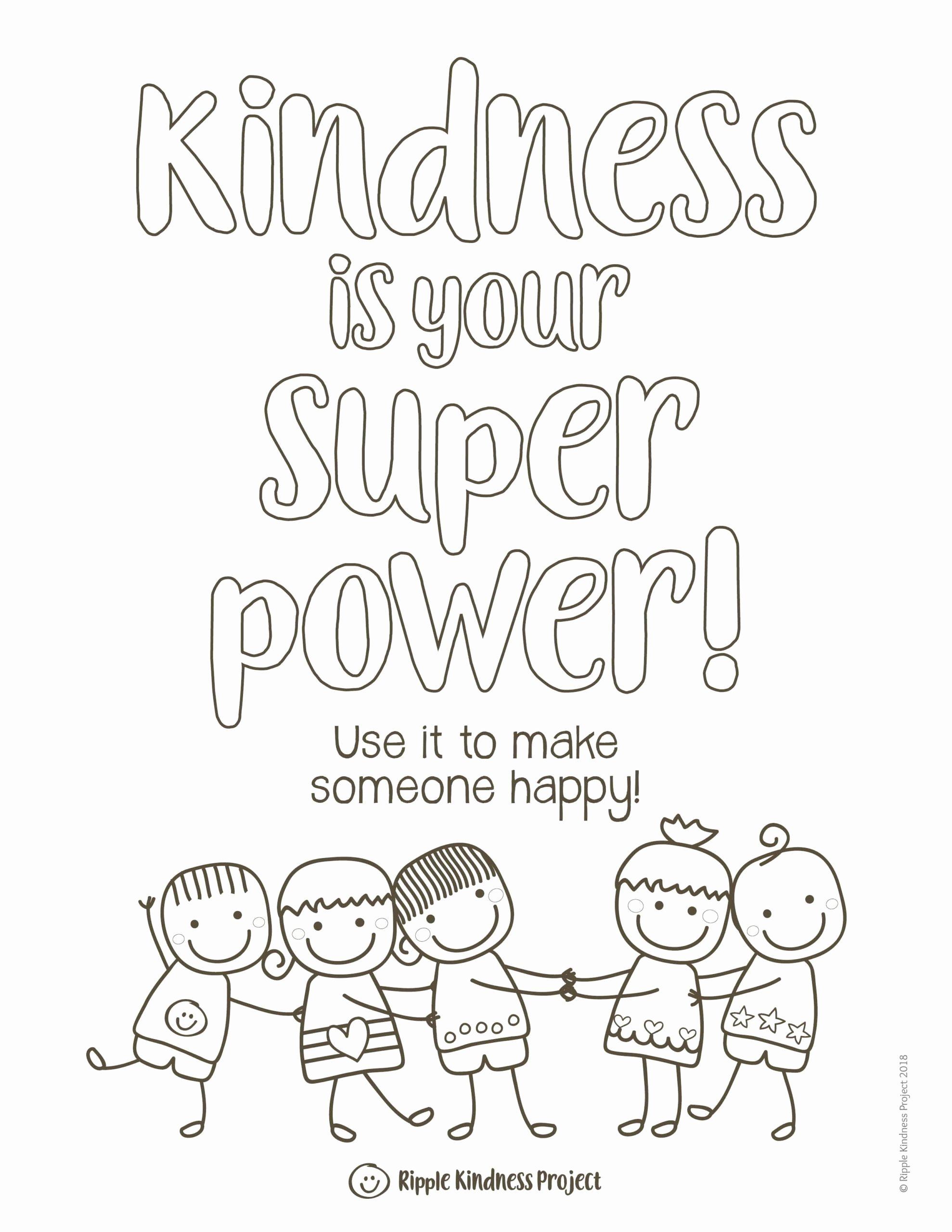 Kindness Worksheets for Preschoolers Ideas Kindness Coloring Activities Posters Distance Self