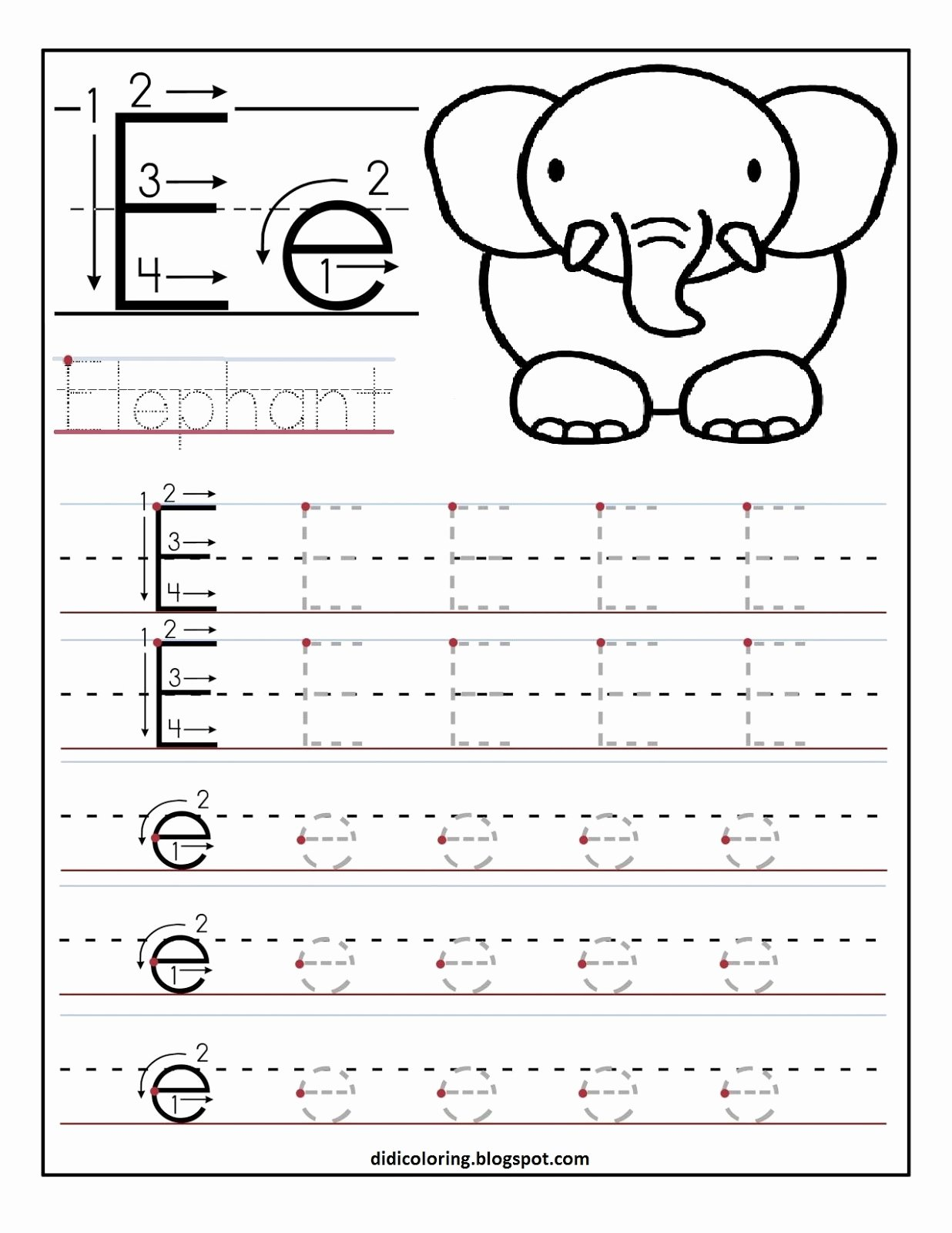Learning to Write Worksheets for Preschoolers Printable Worksheets Learning Write Worksheets How Printable Letter