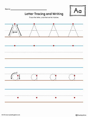 Letter A Writing Worksheets for Preschoolers Free Worksheet Thank You Letterg Worksheets Preschoolers Free