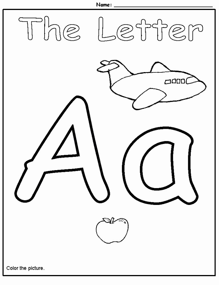 Letter Aa Worksheets for Preschoolers Lovely Follow the Aa Path Worksheet Education