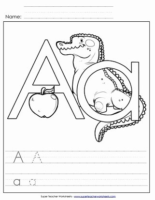 Letter Aa Worksheets for Preschoolers Lovely Letter A Worksheets Recognize Trace & Print