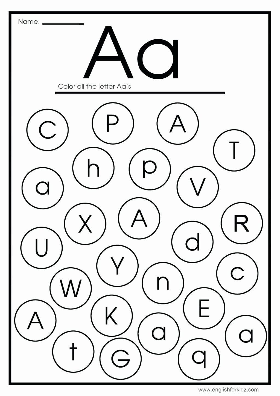 Letter Aa Worksheets for Preschoolers Lovely Worksheet Awesomeabet Letters Practice Sheets Worksheet