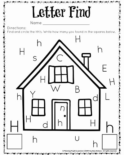 Letter Find Worksheets for Preschoolers New Cute Letter Find Worksheets with A Freebie Planning