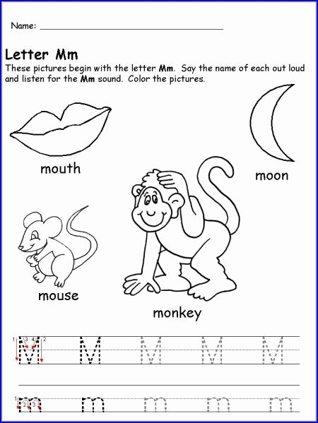 Letter M Worksheets for Preschoolers Ideas Pin by Jessica Eaton On Anniversary