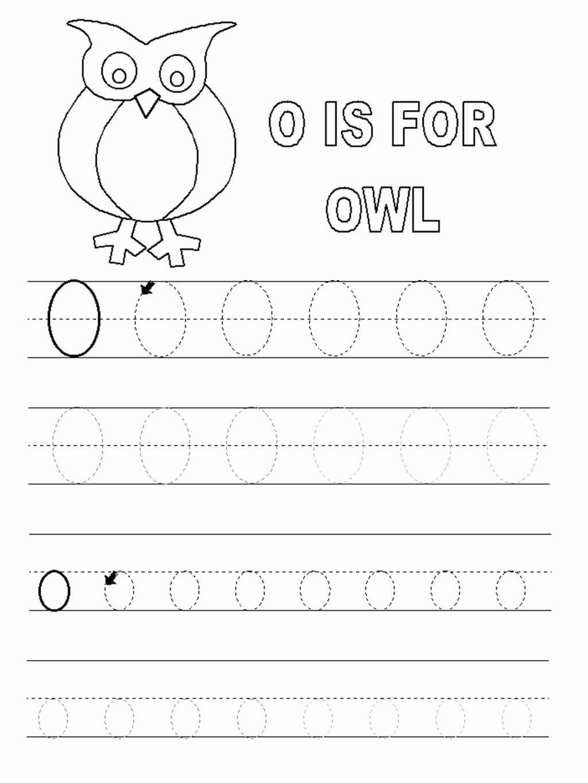 Letter O Worksheets for Preschoolers Best Of Worksheet Letter O Worksheets forl Alphabet Short