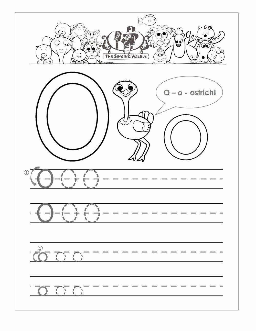 Letter O Worksheets for Preschoolers Ideas Worksheet the Letter Oorksheets for Kindergarten Object