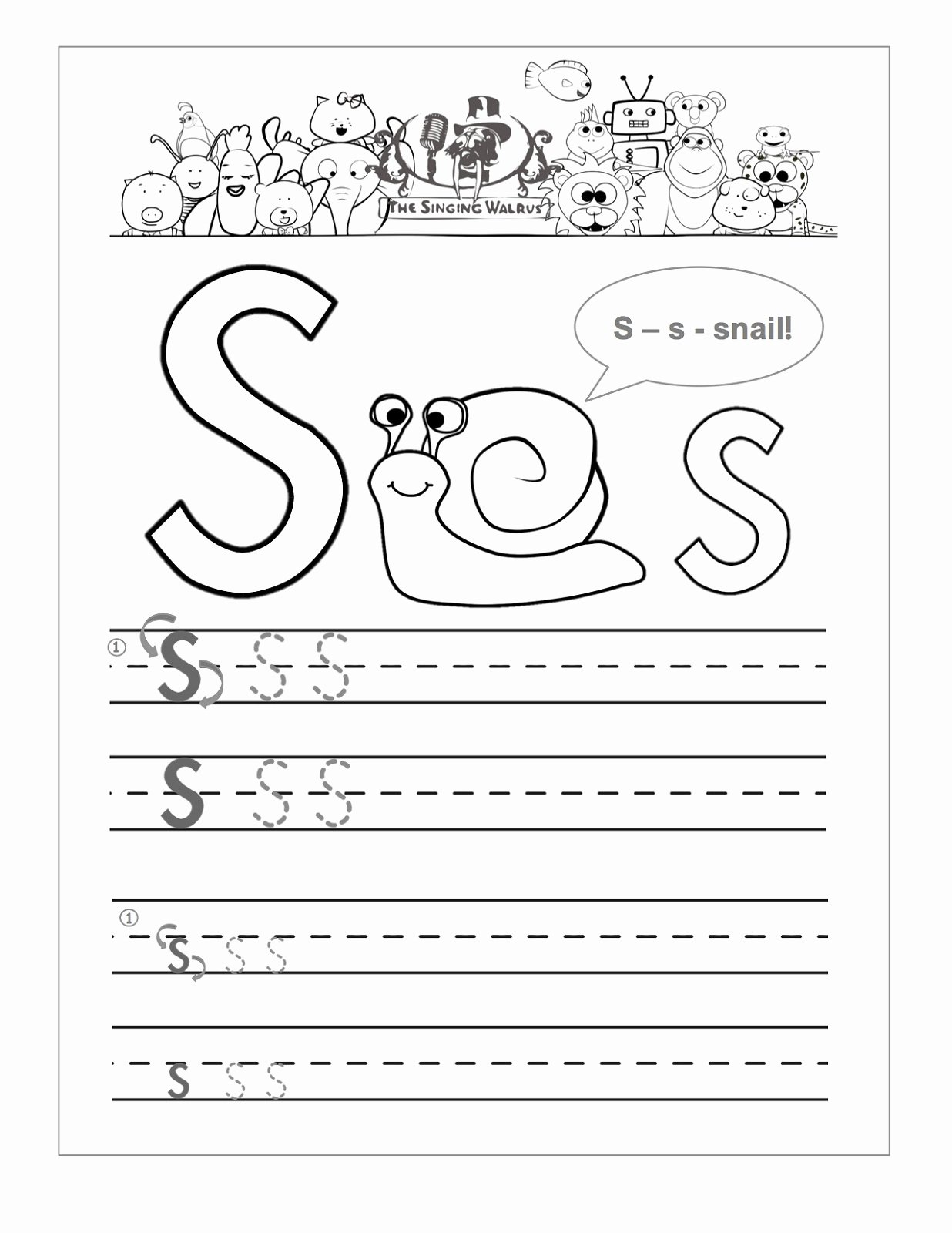 Letter S Worksheets for Preschoolers Fresh Letter S Worksheets Printable