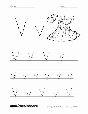 Letter V Worksheets for Preschoolers Fresh Wordpress › Error