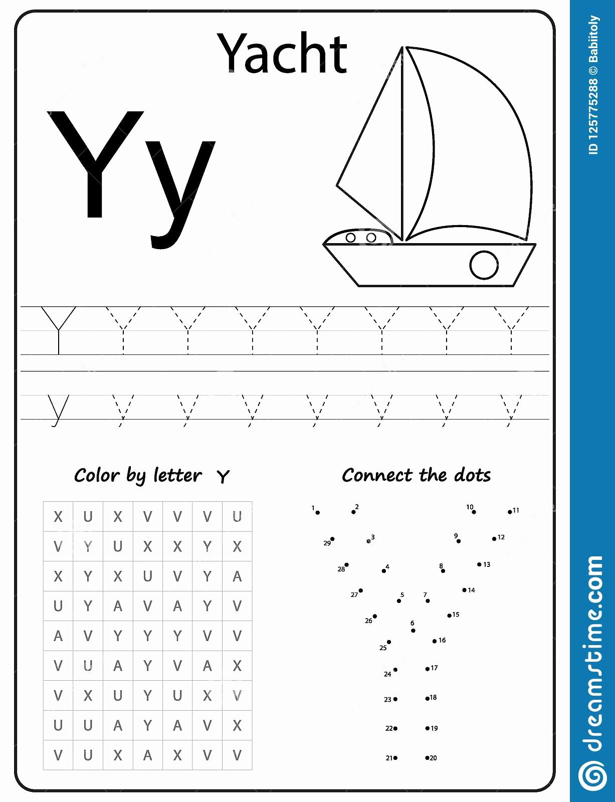 Letter Y Worksheets for Preschoolers Kids Writing Letter Y Worksheet Writing A Z Alphabet