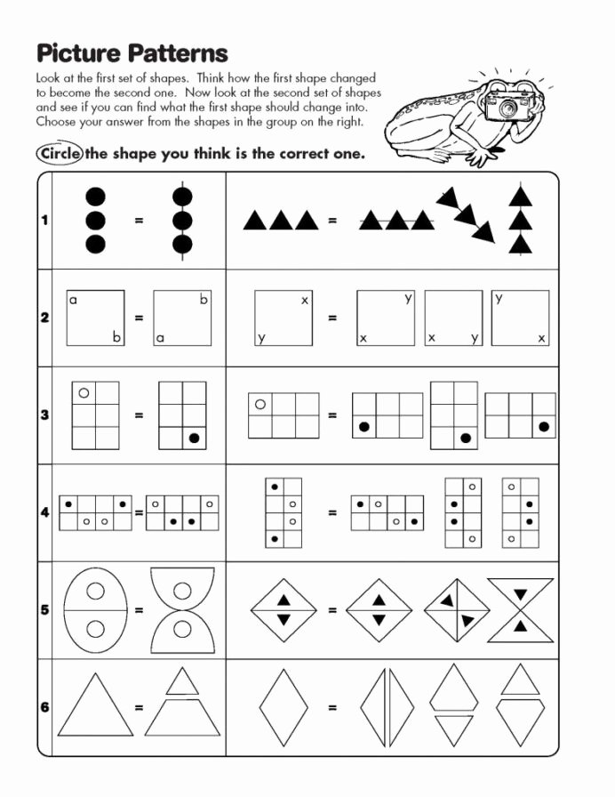 Logical Thinking Worksheets for Preschoolers Best Of Logical Thinking Questions for Tests and Worksheets Critical