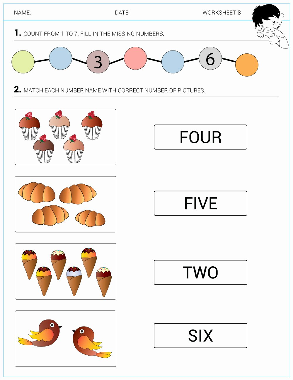 Math Concept Worksheets for Preschoolers Free Worksheets Kinder Mathsheetssheet Kindergarten Archives We