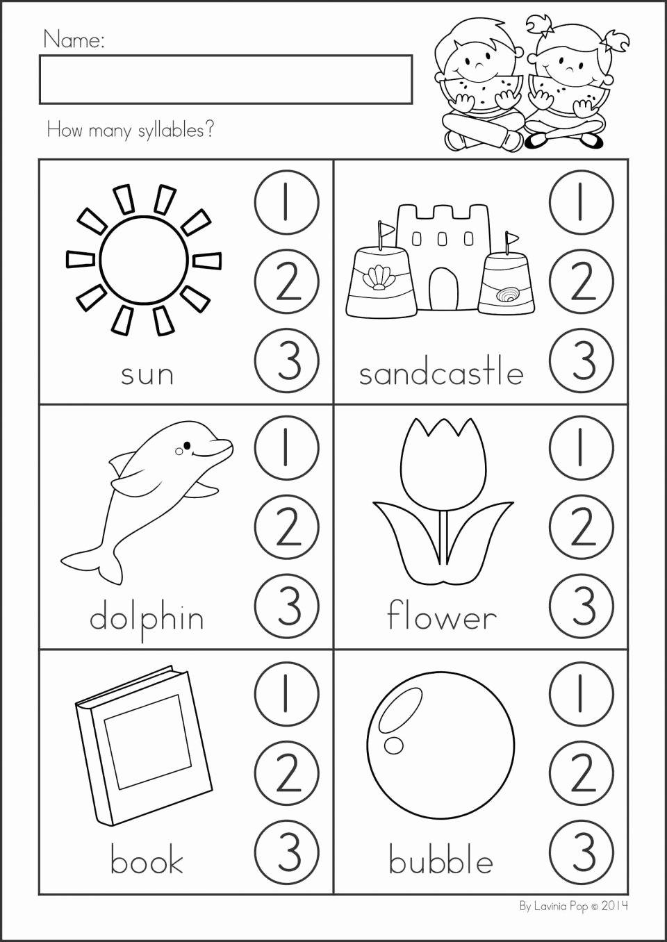 Math Concept Worksheets for Preschoolers Kids Worksheet Kindergarten Activity Sheets Worksheet Grade