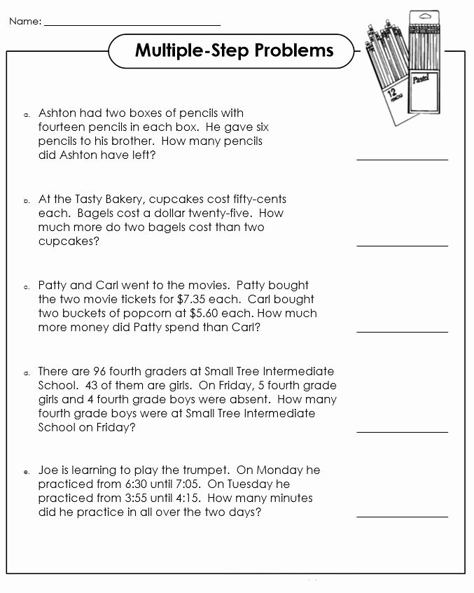 Math Word Problems Worksheets for Preschoolers Lovely Worksheet Worksheet Fun Math Problems for 3rd Graders