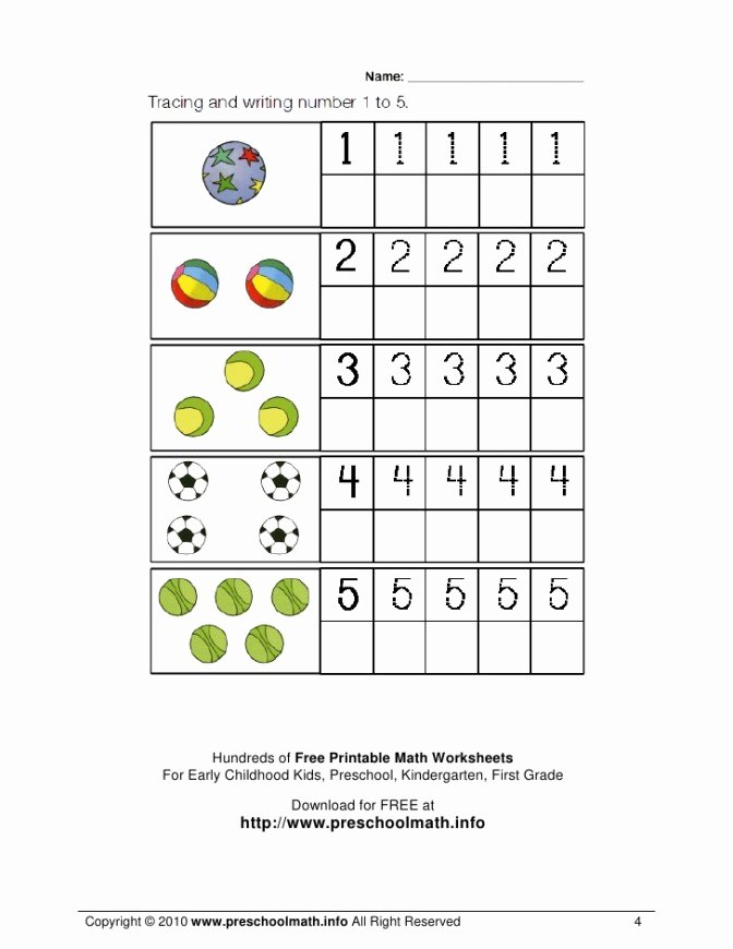 Math Worksheets for Preschoolers Free Best Of Worksheet 53 Stunning Preschool Math Worksheets Printable