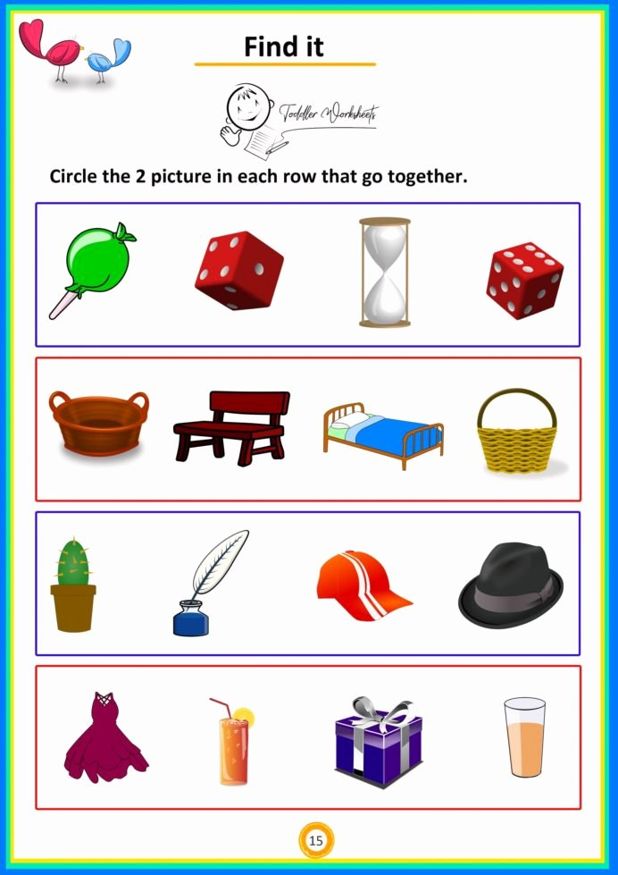 Math Worksheets for Preschoolers Free New Summer Math Worksheets Preschool Simple for