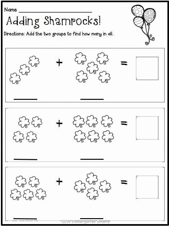 Math Worksheets for Preschoolers New Kindergarten Math Worksheets St Patricks Day with A Freebie
