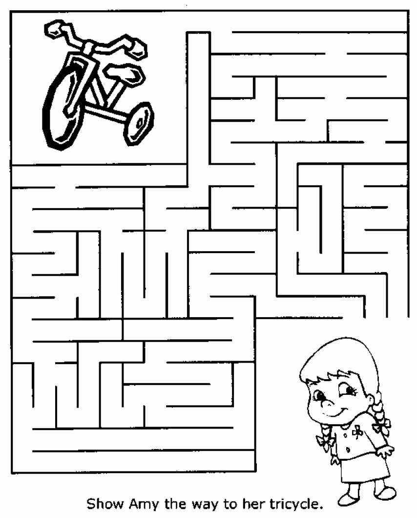 Maze Worksheets for Preschoolers Ideas Free Printable Mazes for Kids