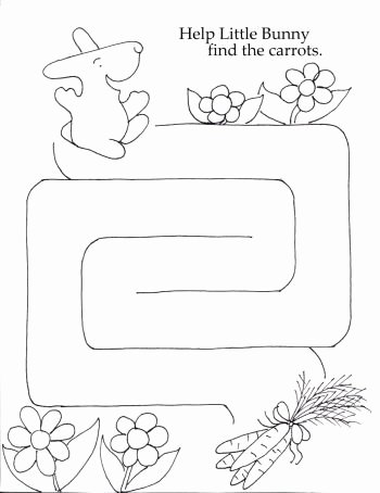 Maze Worksheets for Preschoolers New Games