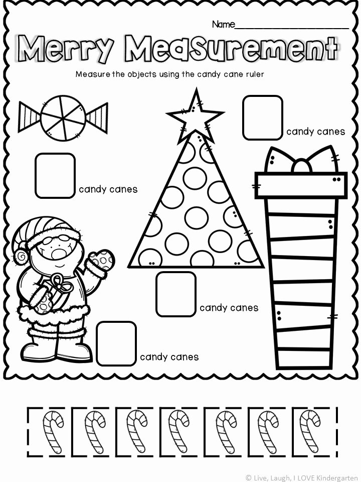 Measuring Worksheets for Preschoolers Best Of Measurement Worksheet
