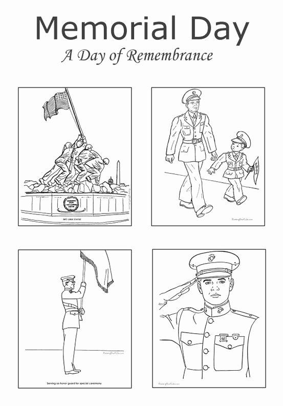 Memorial Day Worksheets for Preschoolers Fresh Memorial Patriotic Coloring for Kids Preschool Super
