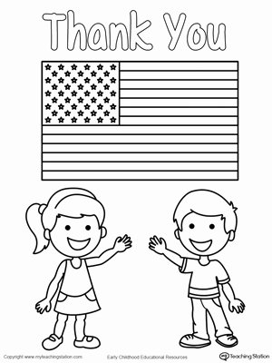 Memorial Day Worksheets for Preschoolers New Memorial Day Thank You Heros
