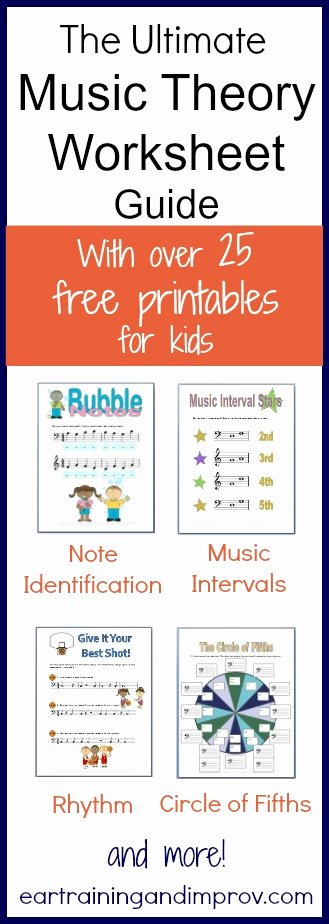 Music theory Worksheets for Preschoolers Fresh Music theory Worksheets 50 Free Printables