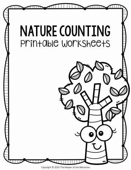Nature Worksheets for Preschoolers Fresh Free Printable Nature Kindergarten Worksheets