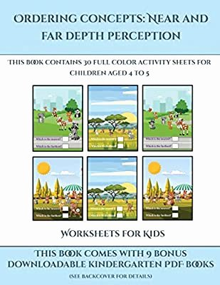 Near and Far Worksheets for Preschoolers Printable Worksheets for Kids ordering Concepts Near and Far Depth