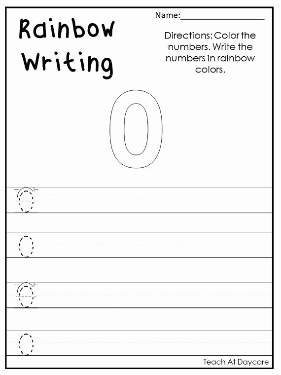 Number 0 Worksheets for Preschoolers Printable Pin On Zero