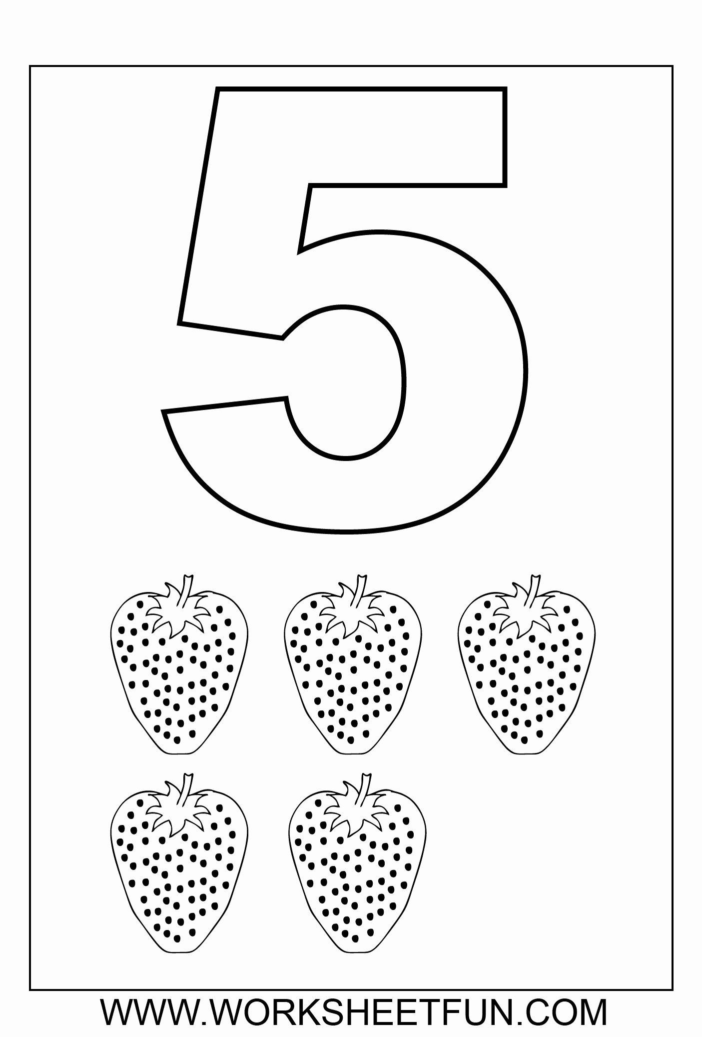 Number 5 Worksheets for Preschoolers Printable Worksheet Preschool Printable Worksheets and Activities forr