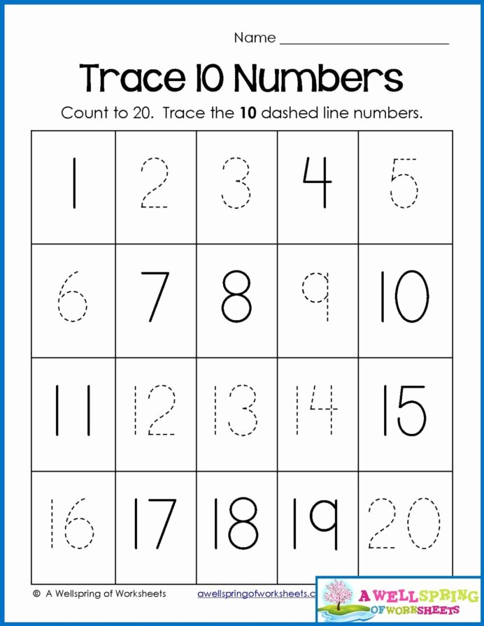 Number Counting Worksheets for Preschoolers New Math Worksheet Number Worksheets for Preschool Christmas
