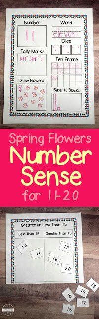 Number Sense Worksheets for Preschoolers Free Free Number Sense Worksheets Teen Numbers Printable Math for