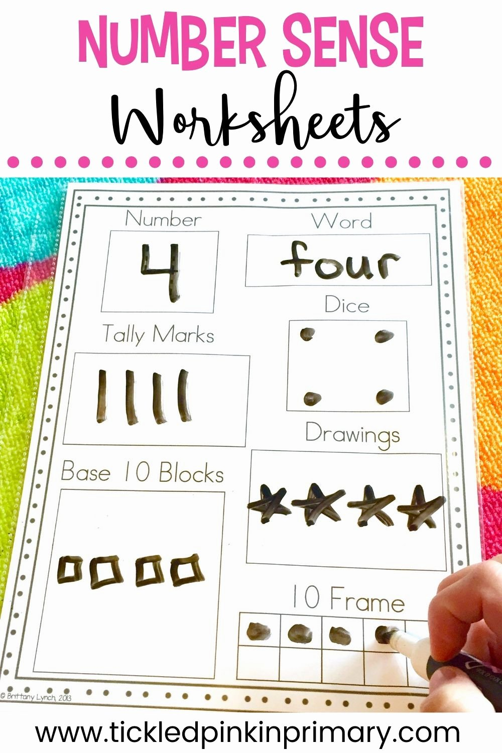 Number Sense Worksheets for Preschoolers Ideas Number Sense Activities for Kindergarten