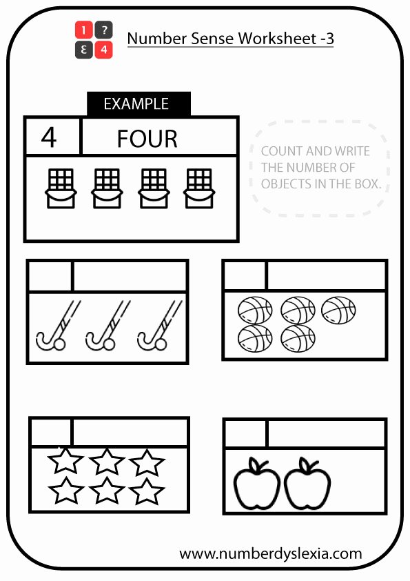 Number Sense Worksheets for Preschoolers Kids Free Printable Number Sense Worksheets for Kindergarten [pdf