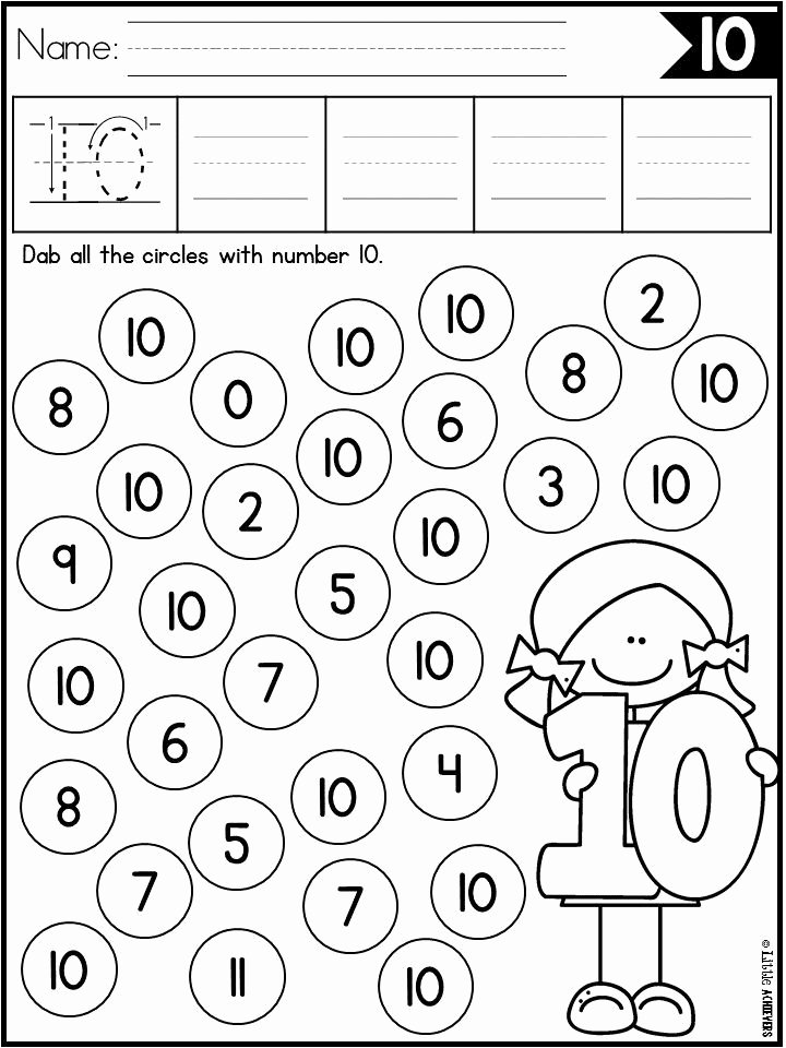 Number Sense Worksheets for Preschoolers Kids Number Recognition 1 20 Number Sense Worksheets Distance