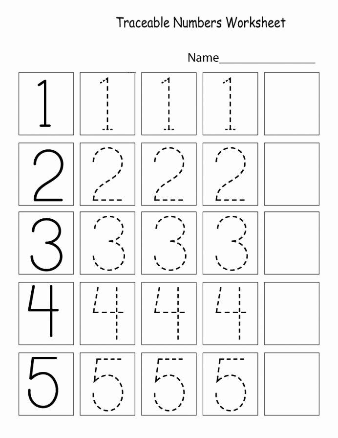 Numbers Worksheets for Preschoolers Free Best Of Letter Tracing Worksheets Preschool Printables Coloring Cut
