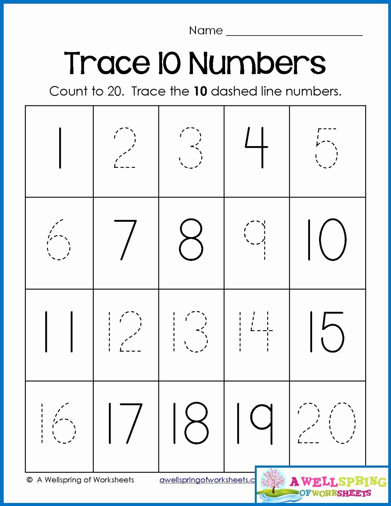 Numbers Worksheets for Preschoolers Free Math Worksheet Number Worksheets for Preschool Christmas