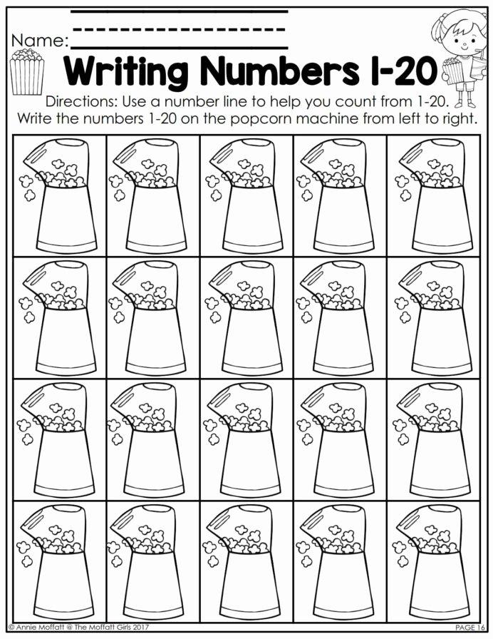 Numbers Worksheets for Preschoolers Free Printables Ideas Kindergarten Math Numbers Worksheets Word Work Book Number