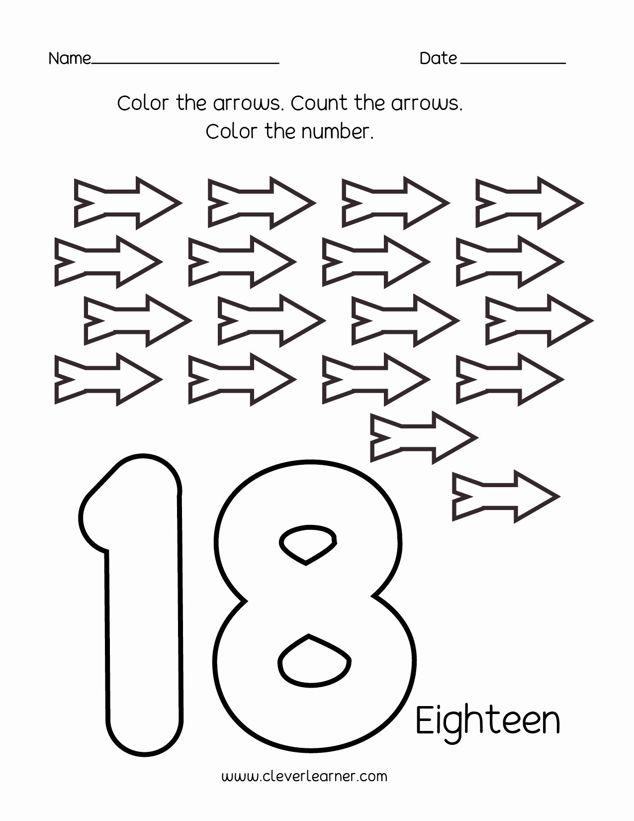 Numbers Worksheets for Preschoolers Lovely Number Writing Counting and Identification Printable