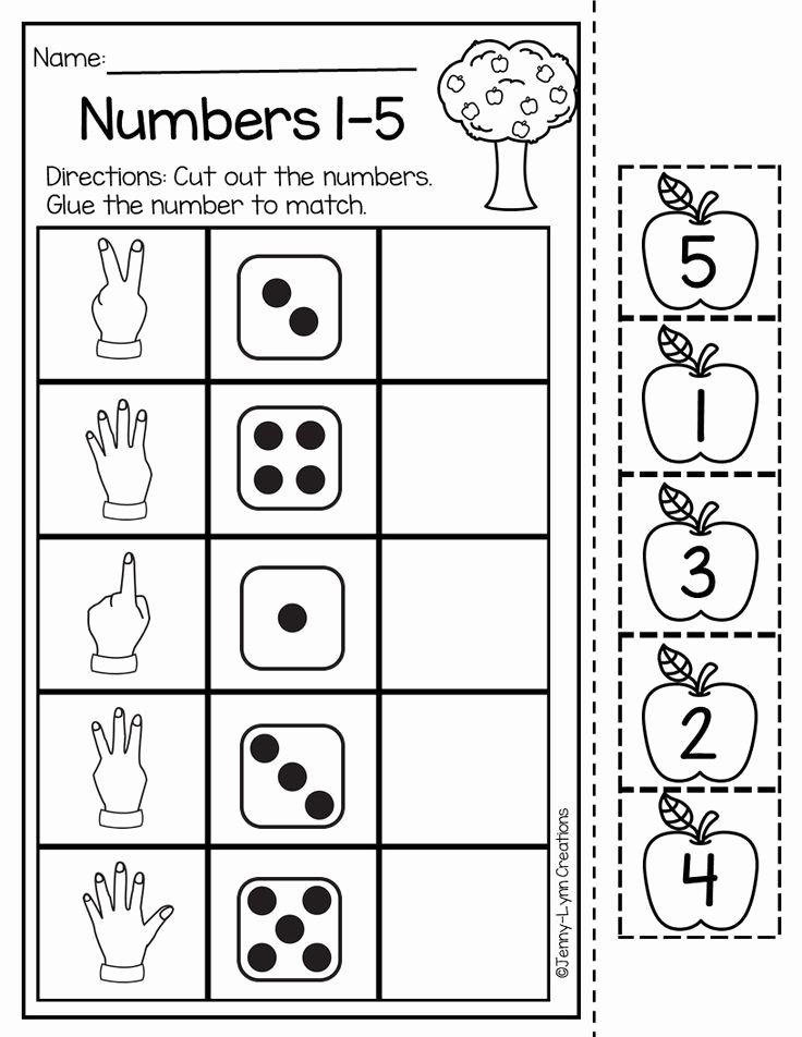 Numeracy Worksheets for Preschoolers Ideas This Back to School Math and Literacy Packet is Perfect for
