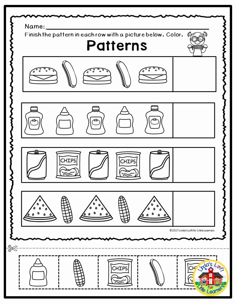 Numeracy Worksheets for Preschoolers Kids Summer Math Printables are Perfect for Summer Math Center