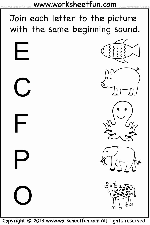 Nursery Rhymes Worksheets for Preschoolers New Worksheet Free Printable for Preschoolers Outstanding
