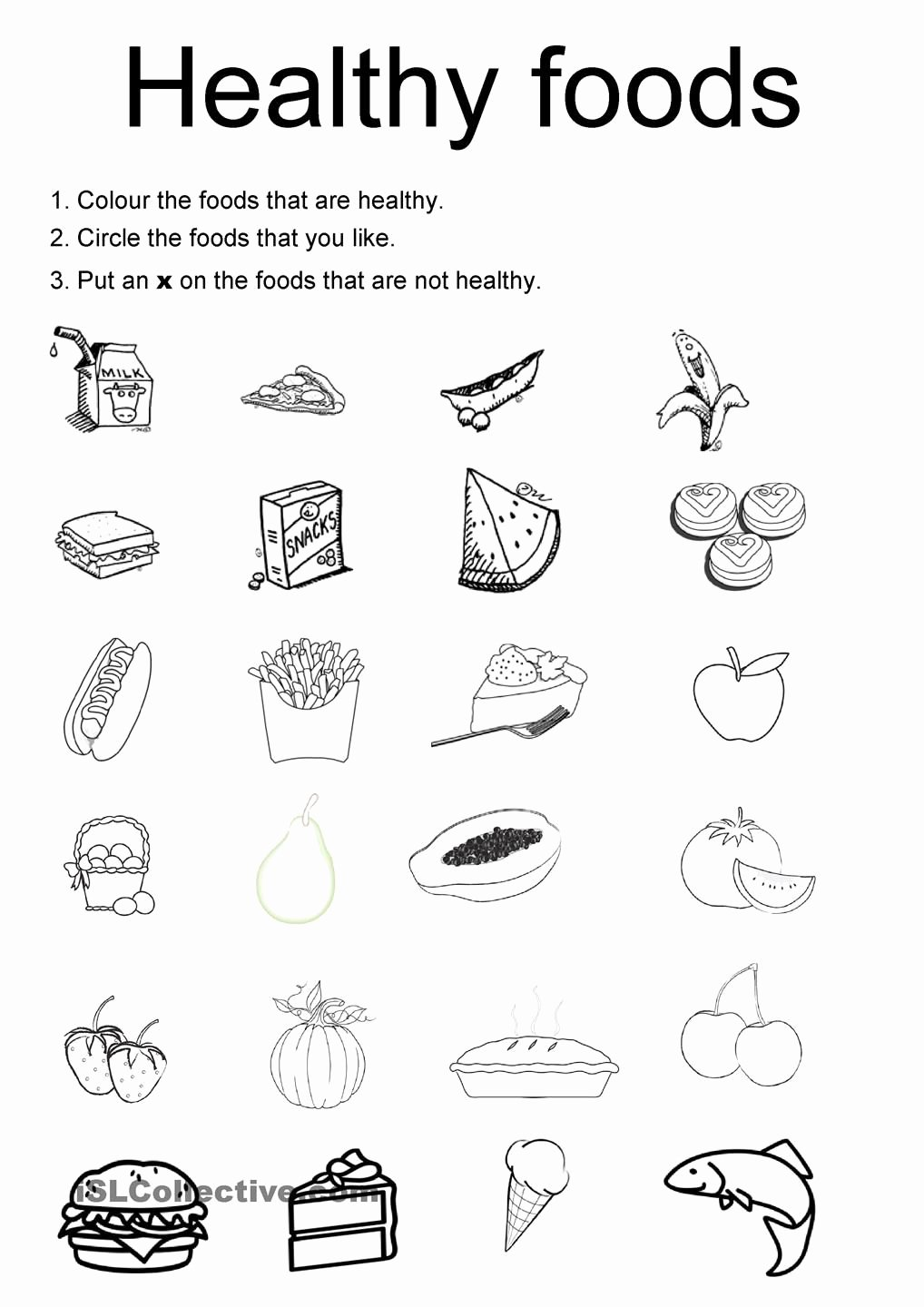 Nutrition Worksheets for Preschoolers Best Of Healthy Foods for Kids Worksheets Good Galleries