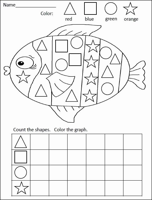 Ocean Animals Worksheets for Preschoolers Printable Ocean Animal Worksheet for Kids